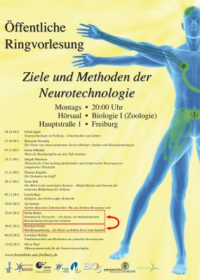 This semester: BrainLinks – BrainTools Public Lecture Series [in German]