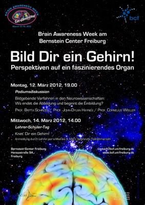 Brain Awareness Week at the BCF: Bild Dir ein Gehirn – Perspektiven auf ein faszinierendes Organ  [in German]