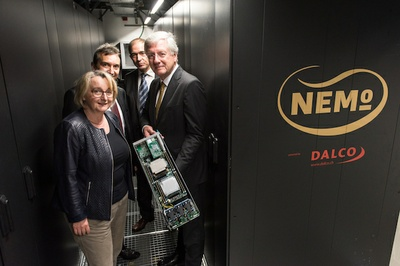New Supercomputer for Neuroscience: NEMO cluster is now ready for use