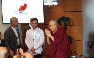 Conversations with the Dalaï Lama in Strasbourg