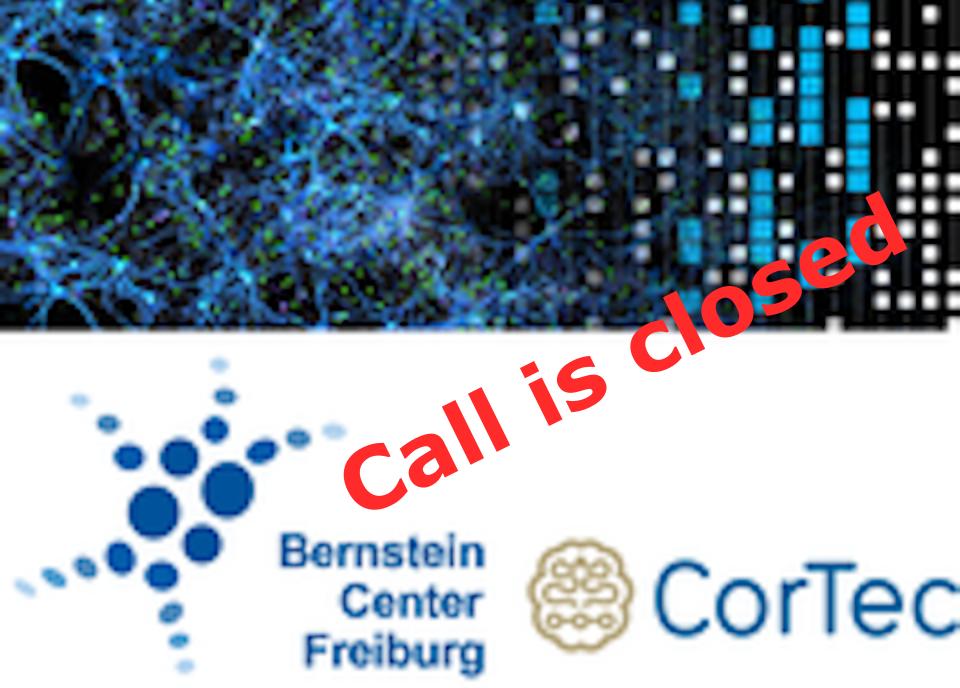 Bernstein-CorTec-Award 2021 - Call for Nominations