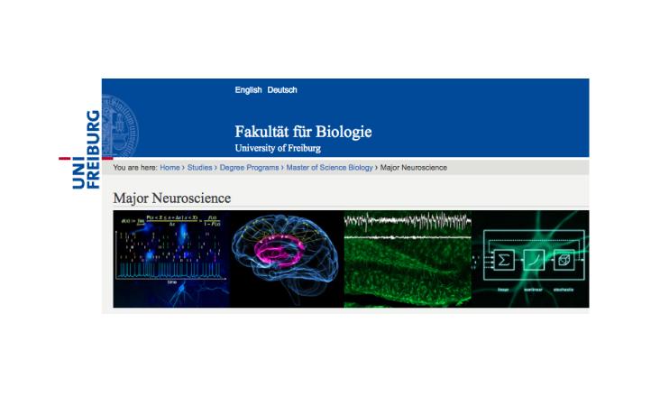 M.Sc. Biology |Major Neuroscience